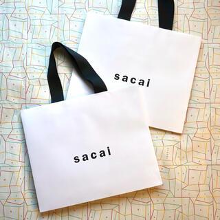 sacai - 【sacai】ショッパー2枚セット
