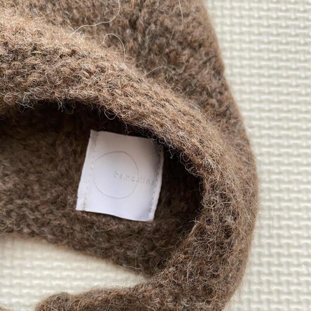 bambolina Kitty hat  ブラウン 12-18M キッズ/ベビー/マタニティのこども用ファッション小物(帽子)の商品写真