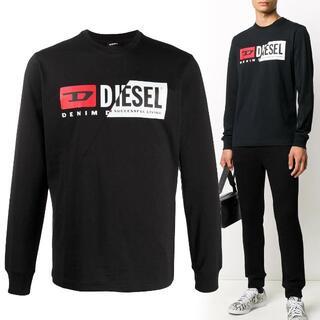 MONCLER - 6 DIESEL T-DIEGO-LS-CUTY ブラック ロンT size M