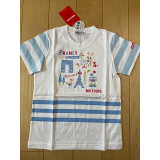 mikihouse - ミキハウス 旅するプッチー&うさこ半袖Tシャツ トップス 新品