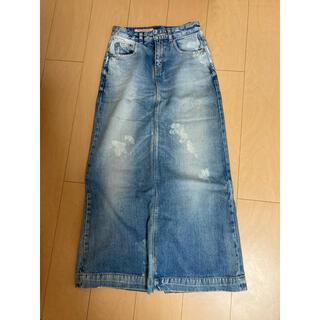 ダブルスタンダードクロージング(DOUBLE STANDARD CLOTHING)のデニムスカート(ロングスカート)