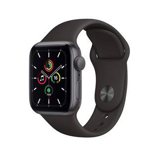Apple Watch - AppleWatchSE(GPSモデル)40mmスペースグレイ 新品未使用