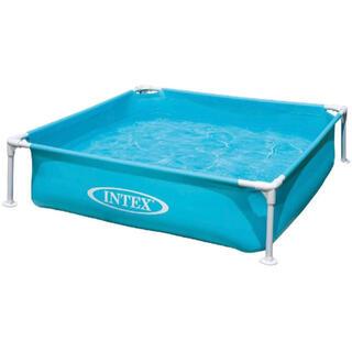コストコ - 新品 コストコ   INTEX インテックス ミニフレームプール  ブルー 青