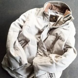 ロロピアーナ(LORO PIANA)の極上 ロロピアーナ ホワイトカシミア100%&ホワイトグースダウン ジャケット(ダウンジャケット)