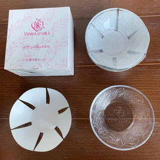トウヨウササキガラス(東洋佐々木ガラス)の桂由美 ガラス小鉢 日本製(食器)