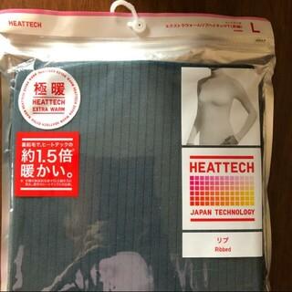 UNIQLO - 新品未使用★ユニクロ極暖ヒートテックリブハイネックTシャツ L