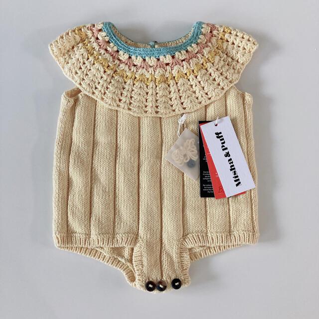 Caramel baby&child (キャラメルベビー&チャイルド)のmisha & puff vivan romper ロンパース ミーシャ キッズ/ベビー/マタニティのベビー服(~85cm)(ロンパース)の商品写真