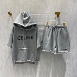 セリーヌ(celine)の大人気★CELINE〈スウェット〉プリント ルーズ コットン セット(その他)