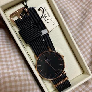 ダニエルウェリントン(Daniel Wellington)のダニエルウェリントン CLASSIC BLACK(腕時計)