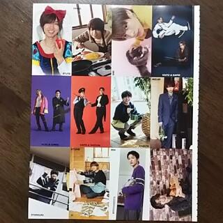 ジャニーズジュニア(ジャニーズJr.)のMyojo 2021年 2月号 この顔がスキ🖤 厚紙カード DJカード(アート/エンタメ/ホビー)