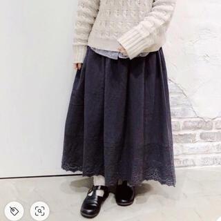 SM2 - 新品*サマンサモスモス スカラップペチスカート