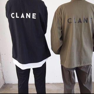 STUDIOUS - 買い値 4万CLANE HOMME 17aw ロゴプリントコーチジャケット