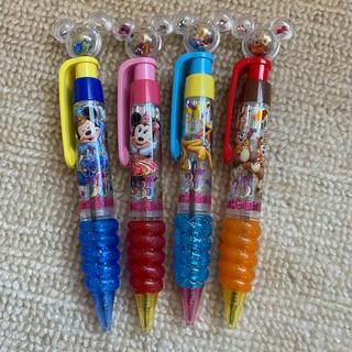 ディズニー(Disney)のDisney ボールペン 4本(ペン/マーカー)