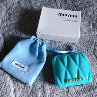 miumiu - miumiu香水 限定ノベルティミラー 新品
