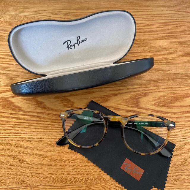 Ray-Ban(レイバン)のレイバン メガネ 伊達メガネ レディースのファッション小物(サングラス/メガネ)の商品写真