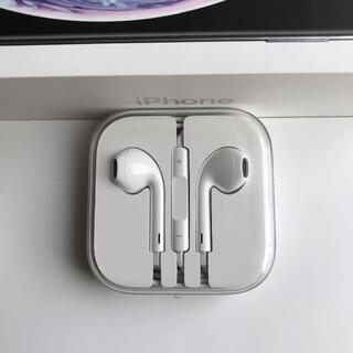 iPhone - アップル純正品 iPhone純正イヤホン