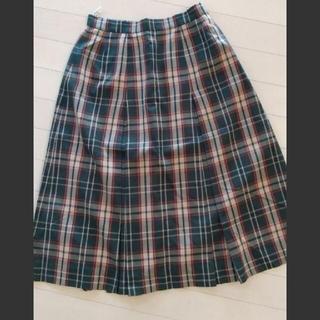 ダックス(DAKS)のDAKS チェック柄スカート(ひざ丈スカート)