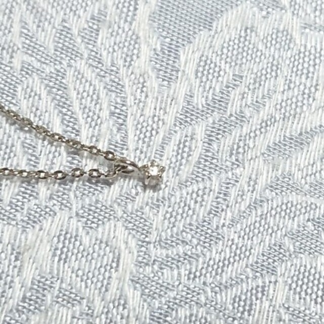 ete(エテ)のete 1粒ダイヤネックレス レディースのアクセサリー(ネックレス)の商品写真