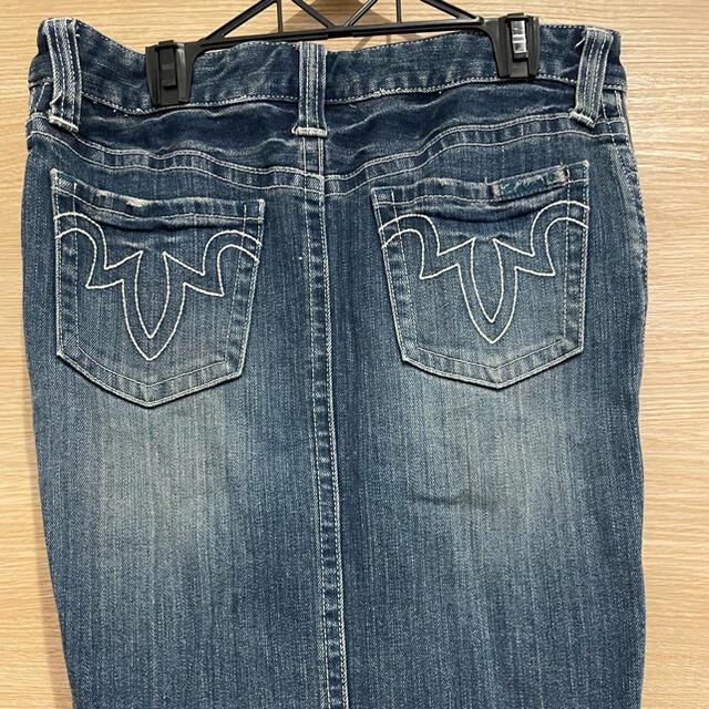 BOSCH(ボッシュ)の【ボッシュ】デニム タイトスカート レディースのスカート(ひざ丈スカート)の商品写真