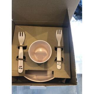 ボンポワン(Bonpoint)のコンゲススロイド アウトレット お食事セット スプーン無し 新品未使用(プレート/茶碗)