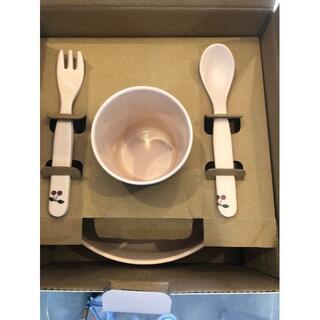 ボンポワン(Bonpoint)のコンゲススロイド アウトレット お食事セット  新品未使用(プレート/茶碗)