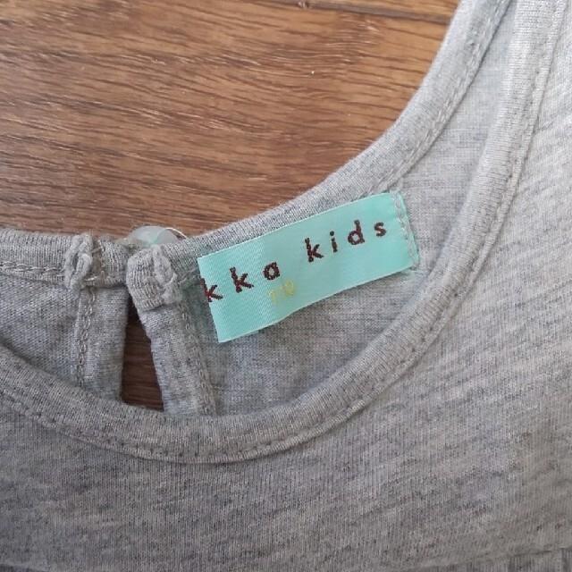 hakka kids(ハッカキッズ)のhakka kids 110 ワンピース キッズ/ベビー/マタニティのキッズ服女の子用(90cm~)(ワンピース)の商品写真
