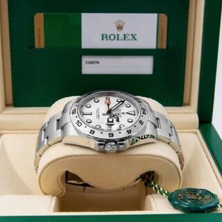 ROLEX - ★美品★ロレックス エクスプローラー2 ホワイト(白)216570
