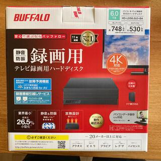 Buffalo - BUFFALO 外付けハードディスク 6TB 新品未使用・未開封品