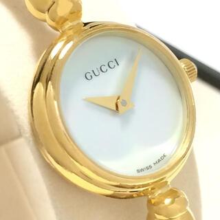 グッチ(Gucci)の2.超美品 グッチ GUCCI 時計 2700.2L ホワイトシェル(腕時計)