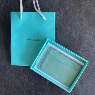 Tiffany & Co. - Tiffany ティファニー カードケース