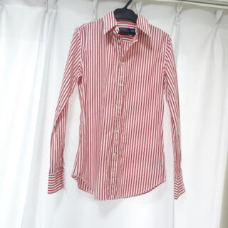 POLO RALPH LAUREN - 中古☆ラルフローレン☆赤ストライプシャツ☆