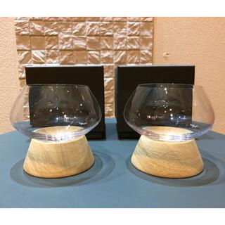 ミナペルホネン(mina perhonen)の新品 未使用 ミナ ペルホネン sghr ホイップグラス 2個セット(グラス/カップ)
