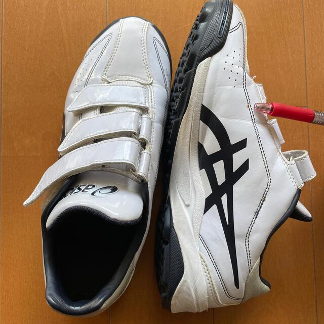 asics(アシックス)のasics トレーニングシューズ 24cm ソフト スポーツ/アウトドアの野球(シューズ)の商品写真