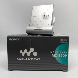 ウォークマン(WALKMAN)のSONY ポータブルミニディスクプレーヤー MZ-E909(ポータブルプレーヤー)