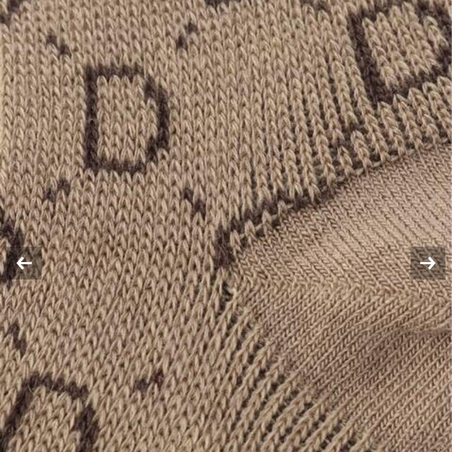 DEUXIEME CLASSE(ドゥーズィエムクラス)のDeuxieme Classe 追加 jacquard socksベージュ レディースのレッグウェア(ソックス)の商品写真