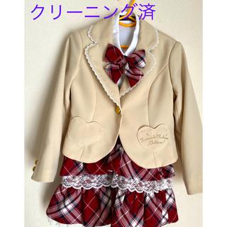 ☆セレモニースーツ☆120cm☆4点セット☆