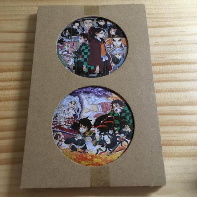 集英社(シュウエイシャ)の鬼滅の刃 22巻 同梱版 70mm缶バッジ 2個 エンタメ/ホビーのアニメグッズ(バッジ/ピンバッジ)の商品写真