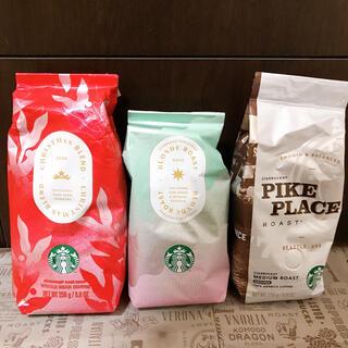 Starbucks Coffee - スターバックス コーヒー豆 クリスマスブレンド2020他 計3袋