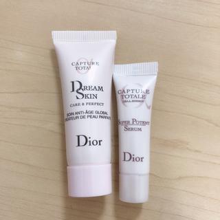 Dior - 【新品未使用】Dior カプチュールトータル 乳液、美容液 セット