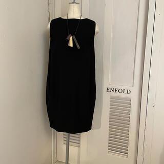 エンフォルド(ENFOLD)の美品 ENFOLD ワンピース ジルサンダー マルジェラ TOGA 1(ひざ丈ワンピース)