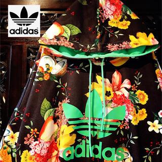 adidas - アディダス ジャージ 花柄 フルーツ トレーナー パーカー スウェット