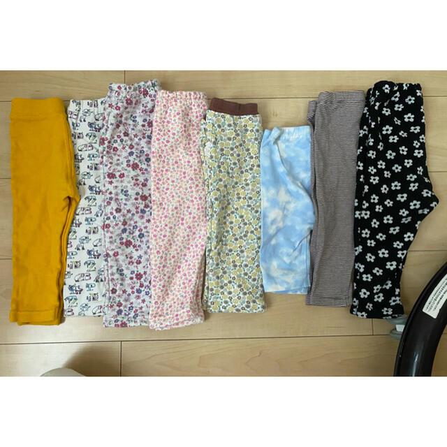 UNIQLO(ユニクロ)のベビーレギンス80サイズ ベビーズボン80サイズ キッズ/ベビー/マタニティのベビー服(~85cm)(パンツ)の商品写真