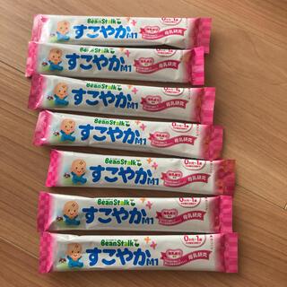 ユキジルシメグミルク(雪印メグミルク)のすこやかM1☆スティック粉ミルク(乳液/ミルク)