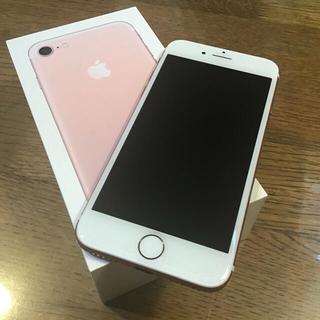 Apple -   iphone7 本体 SIMフリー 32GB ローズピンク