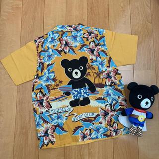 DOUBLE.B - 14300円★ダブルB★130★アロハシャツ★ミキハウス★新品★
