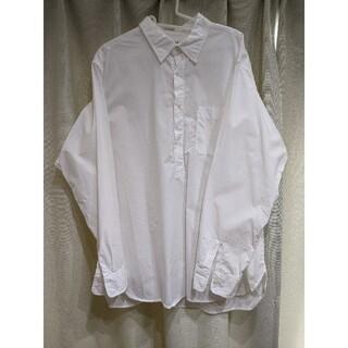 ユニクロ(UNIQLO)の今だけ値下げ【2枚セット】UNIQLO プルオーバーワイドシャツ XXL(シャツ)