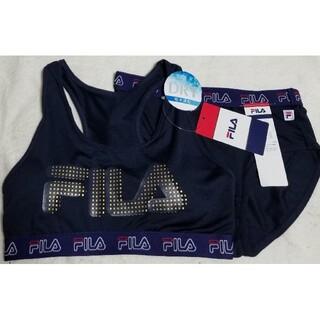 FILA - FILA フィラ Lサイズ スポーツブラ&ショーツ上下セット 新品