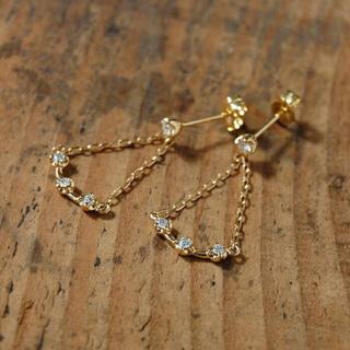 Avaron  シャンデリアピアス k18 ダイヤモンド