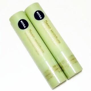 ニベア(ニベア)のニベア ディープモイスチャー リップクリーム オリーブ&レモンの香り 2本セット(リップケア/リップクリーム)