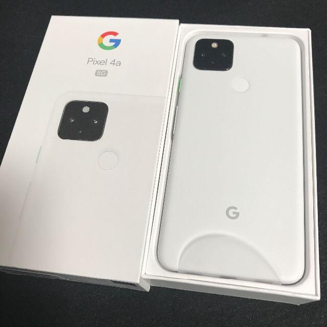 Google Pixel(グーグルピクセル)の【新品/未使用/SIMフリー】Google Pixel4a 5G★一括購入★ スマホ/家電/カメラのスマートフォン/携帯電話(スマートフォン本体)の商品写真